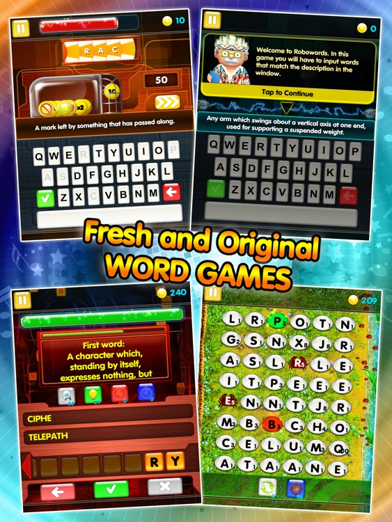 All Word Games HD screenshot-4