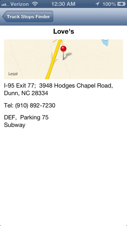 Truck Stops Finder screenshot-1