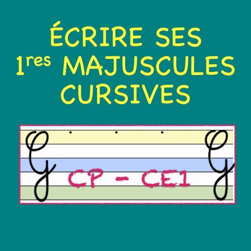 Ecrire Ses Premières Majuscules Cursives En Cp Ce1 Apps