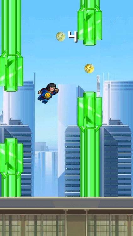 Super Flappy Justice League- Play Free Comic Hero Edition screenshot-3