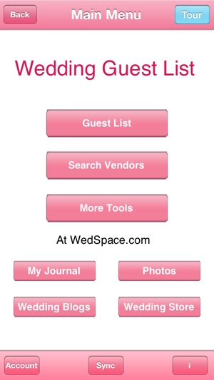 Wedding Guest List On The App Store