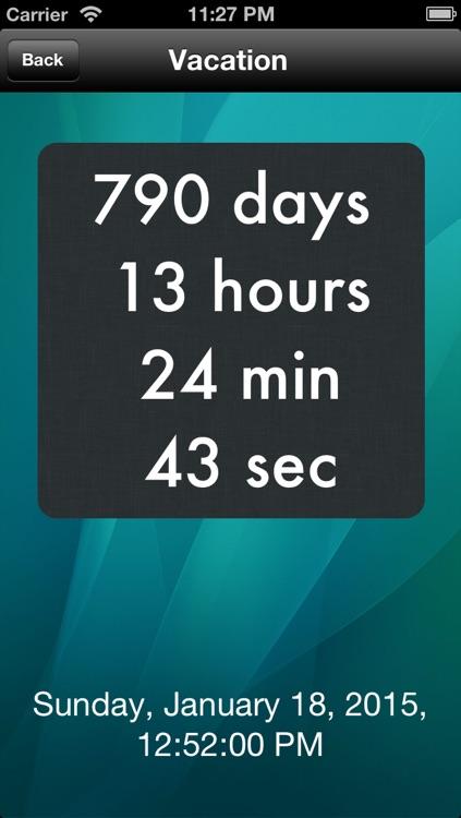 Countdown+++ screenshot-3