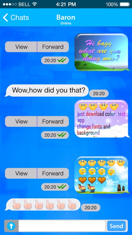 Color Text Messages Pro - Send Color Text Messages with Emoji for sms, mms & iMessage