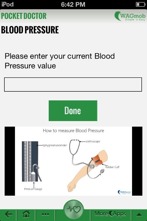 Pocket Doctor by WAGmob. screenshot-3