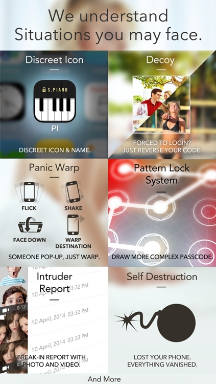 Secret Piano Icon - Piano Lock Photo+Video Manager and Disk Vault screenshot-3