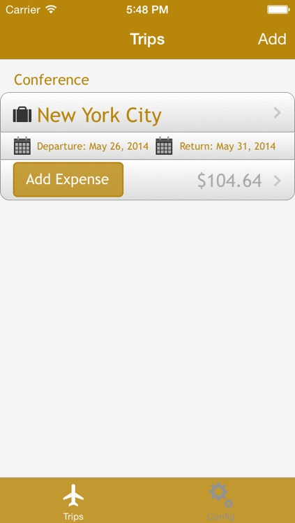 Trip Expenses - App to Track your travel expenses
