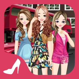 London Girls 2 - Dress up and make up game for kids who love London