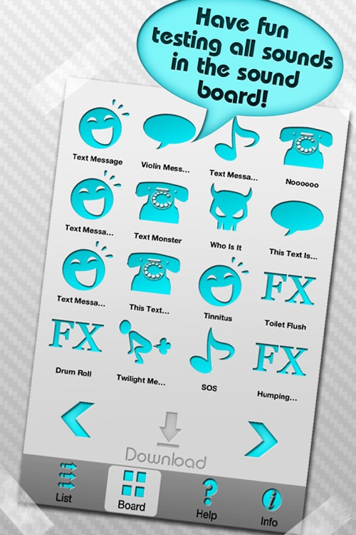 iTexttone - 100+ Text Message Tones, Ringtones and Sound Effects screenshot-3