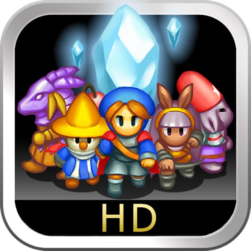 CRYSTAL DEFENDERS for iPad icon