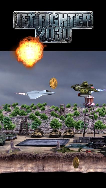 Jet Fighter 2030 - War Game screenshot-3