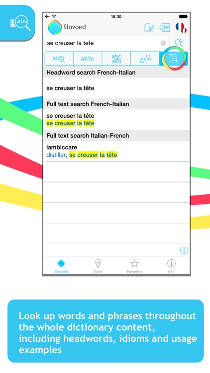 French <-> Italian Slovoed Compact talking dictionary