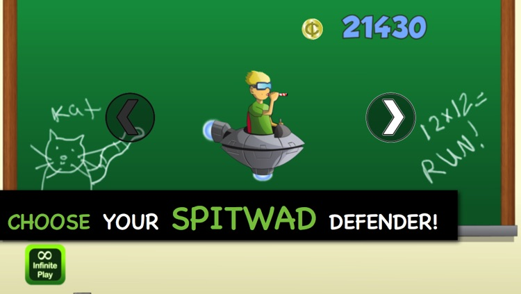 Attack of the Spitwad Invaders: Fly Mutants, Fly screenshot-3