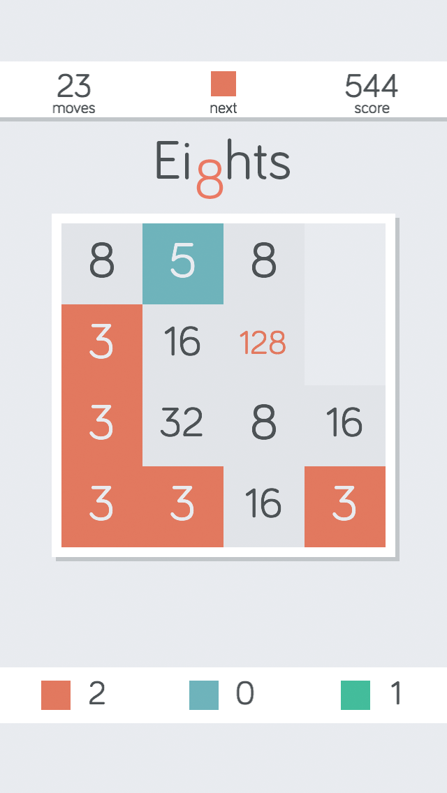 Eights! Match Fives and Threes to Reach 2048 Free wiki review and how to guide