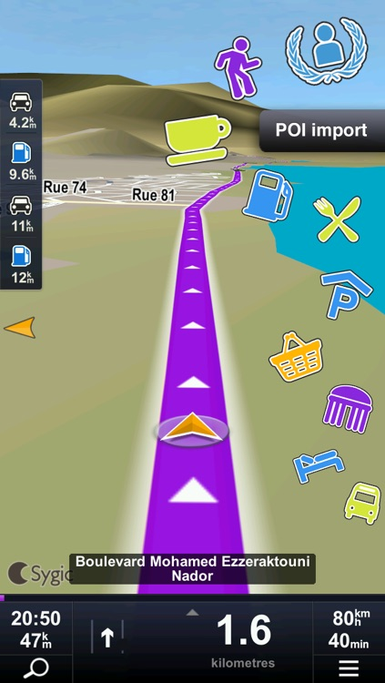 Sygic Algeria & Tunisia: GPS Navigation screenshot-3