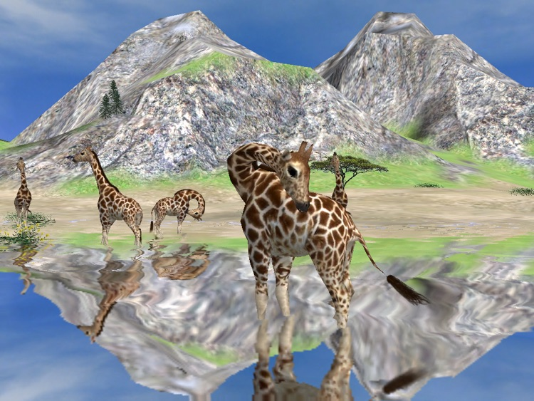 Wildlife Animal Zoo Simulator Game-3D Virtual Pets screenshot-0