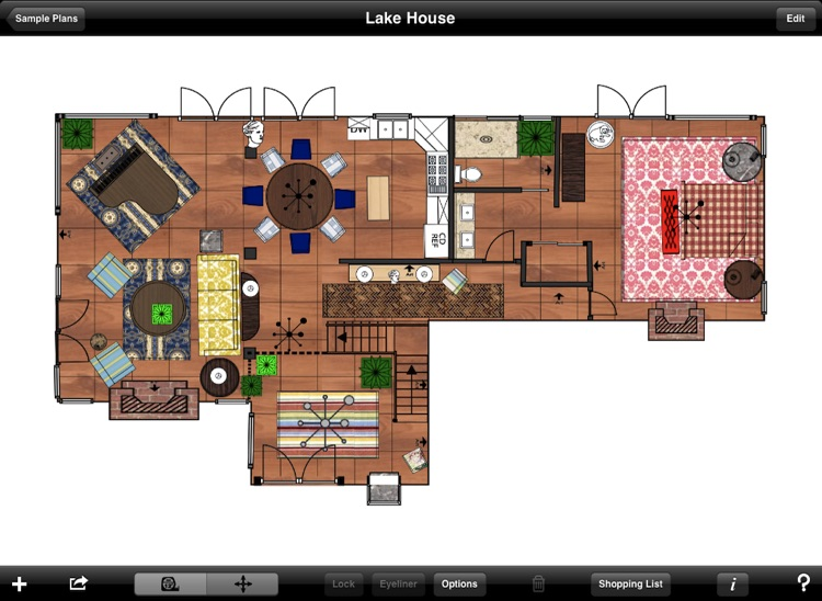 Home Design DIY Interior Floor Layout Space Planning & House Decorating Tool HD by Mark On Call
