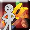 Stickman Space Shooter Blaster