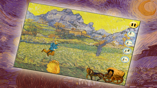 Van Gogh game: Art Ninja! Free screenshot four