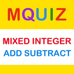 MQuiz Mixed Integer Addition and Subtraction