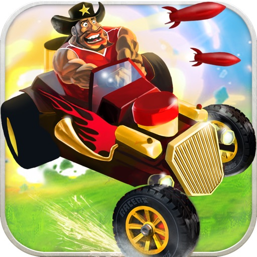 Racers Islands - Drive, Shoot, Win!
