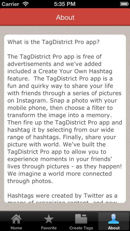 TagDistrict Pro