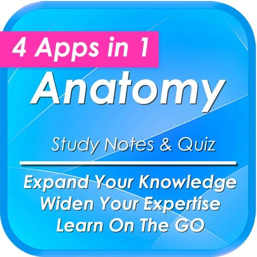 Anatomy & Physiology +2700 Study Notes & Exam Quiz iOS App