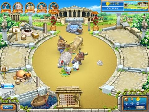Веселая Ферма 3. Древний Рим HD (free) на iPad