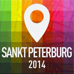 Offline Map St. Peterburg - Guide, Attractions and Transports