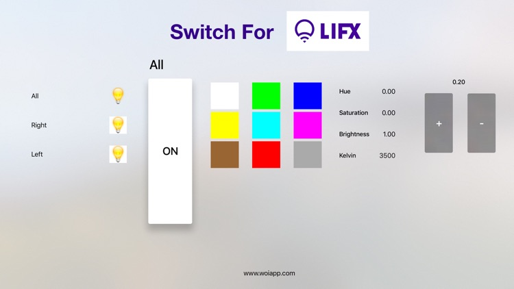 Switch For LIFX