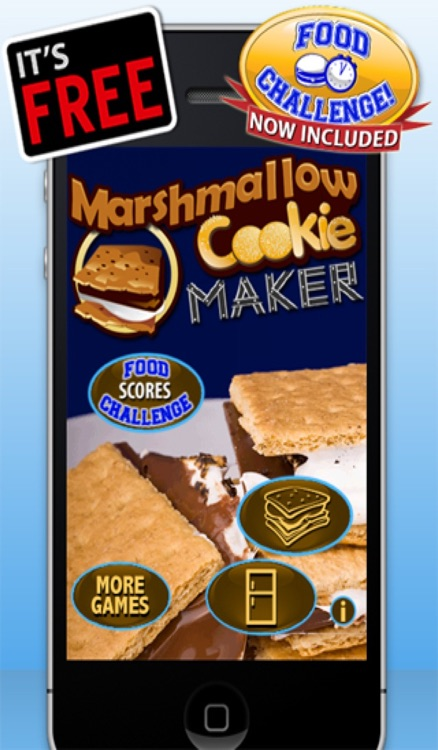 Marshmallow Cookie Maker Games - Play Make Chocolate, Cookies & Candy Free Family Game
