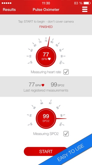 ‎Pulse Oximeter - Heart Rate and Oxygen Monitor App
