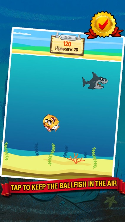 Ocean Soccer - Underwater Kick Ups Finger Football screenshot-1