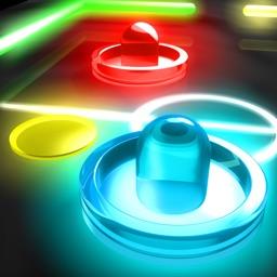 Glow Hockey 2 FREE