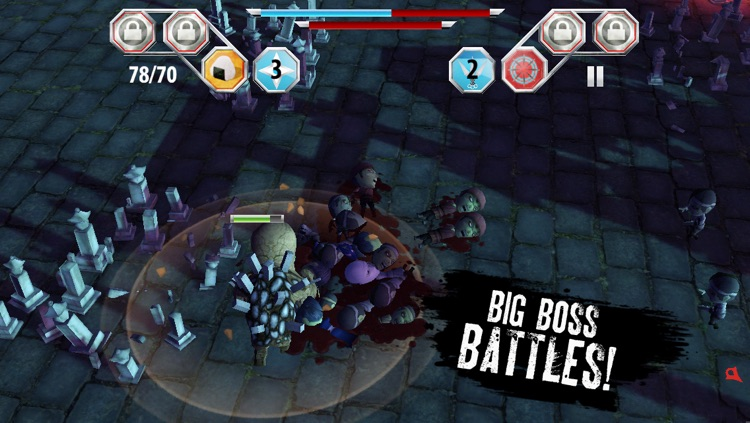 Finger Ninjas: Zombie Strike-Force screenshot-1