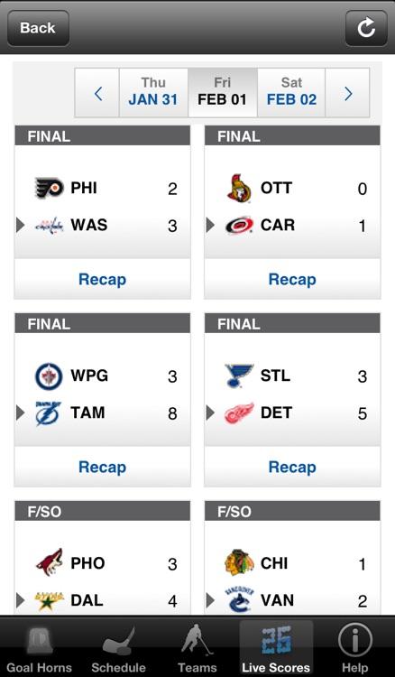 Hockey Goal Horns! screenshot-3
