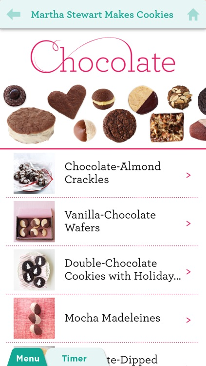 Martha Stewart Makes Cookies for iPhone/iPod Touch