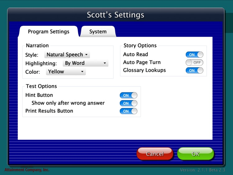 Attainment's Read to Learn screenshot-3