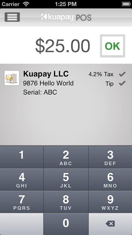 Kuapay Point of Sale
