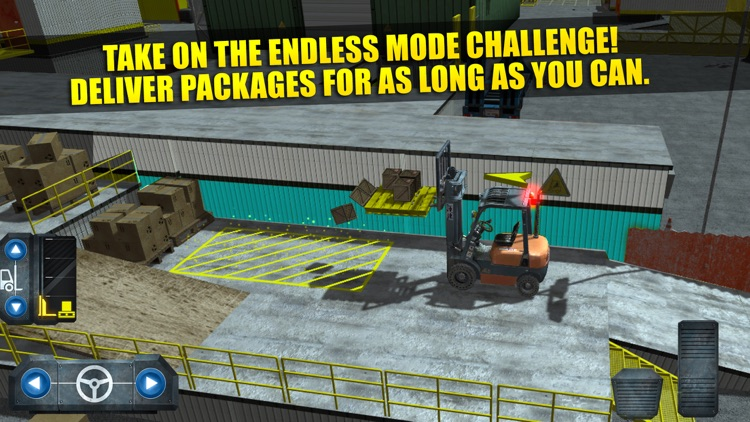 Fork Lift Truck Driving Simulator Real Extreme Car Parking Run screenshot-3