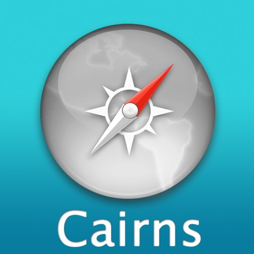 Cairns Travel Map (Australia)