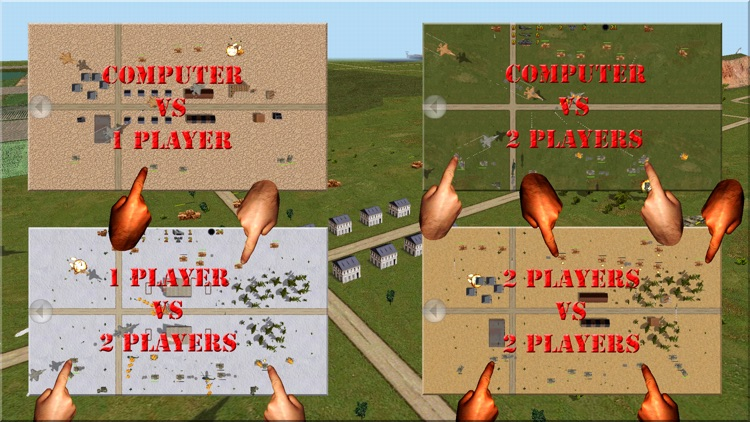 Tank Battle 2D screenshot-4