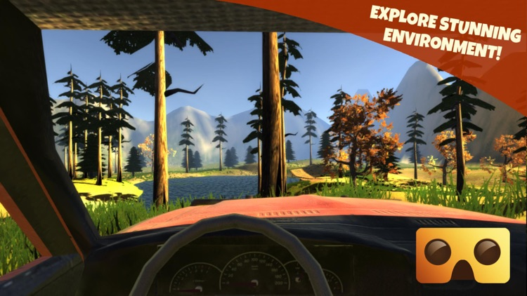 Off-Road Virtual Reality Game : VR Game For Google Cardboard screenshot-2