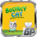 Bouncy Cat Lite - A Physics Adventure icon