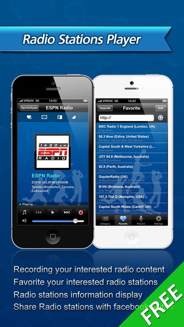 All Sports Radio Free Screenshot