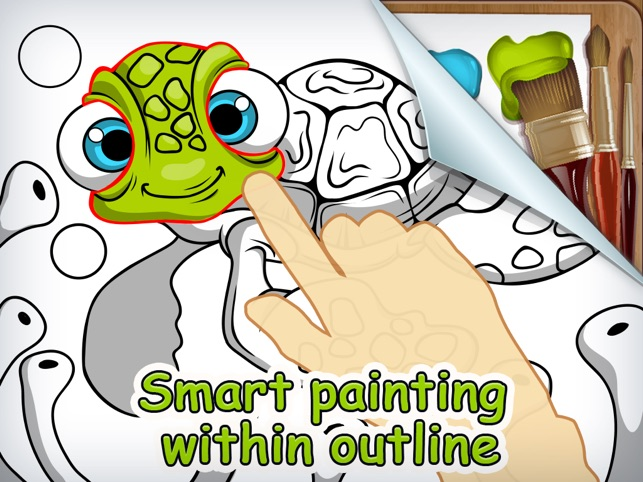 Brush and Smudge - coloring book on the App Store