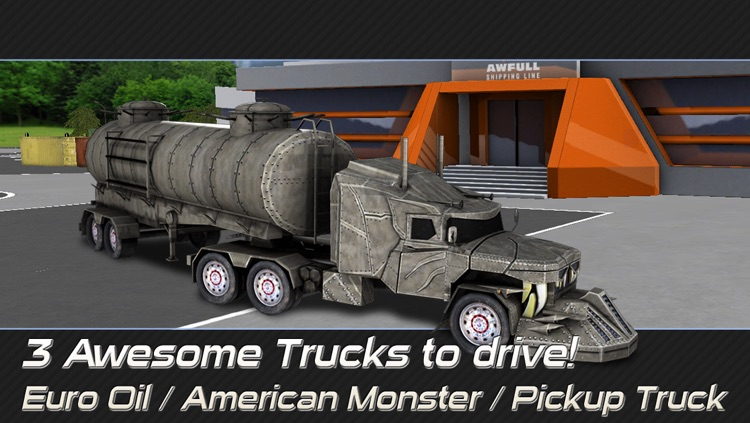 Trucker: Parking Simulator - Realistic 3D Monster Truck and Lorry 'Driving Test' Free Racing Game screenshot-2
