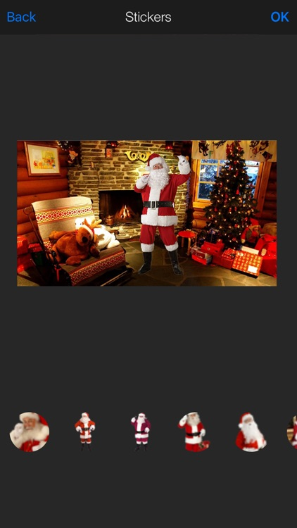 Santa Was In My House: Christmas Cam HD 2015 screenshot-3