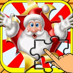 Puzzle for Merry Christmas - Santa Gifts HD Puzzles for Kids and Toddler Game