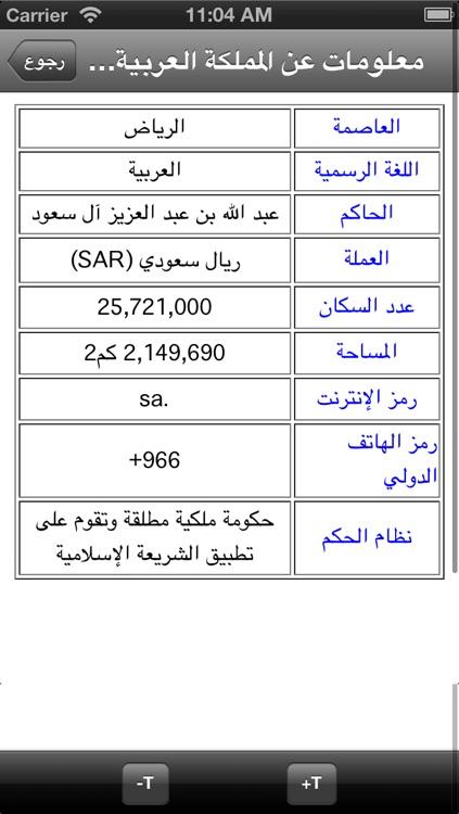 الاطلس العربي screenshot-4