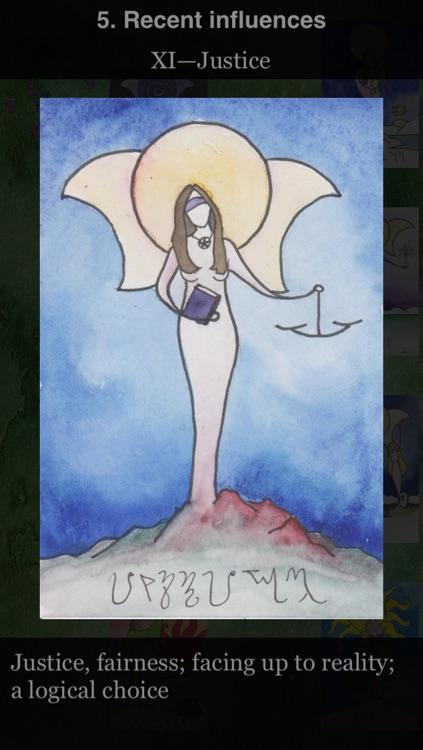 Beth Seilonen's Witches Arcana II, Daughters of Gaia Tarot screenshot-3